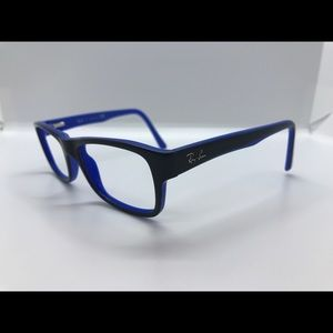 Ray Ban Eyeglasses RB 5268 blue & black
